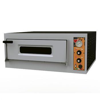 Elektro-Pizzaofen für 4 Pizzen ø32 cm, mechanische Bedienung