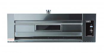 OEM DOMITOR 630LDG Pizzaofen - Breite Version - für 6 x 30 cm Pizzen - Digitale Version