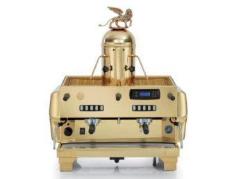 La San Marco TOP 80 PREZIOSA GOLD - 2 Gruppig - Siebträger-Espressomaschine