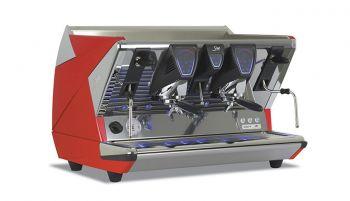 La San Marco 100 T - 2 Gruppig - Siebträger-Espressomaschine - 12 Liter Kessel