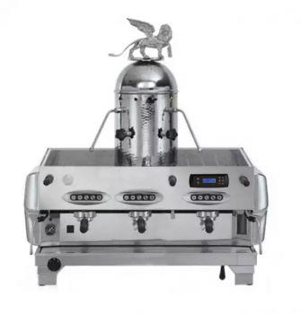 La San Marco TOP 80 PREZIOSA CROMATA - 3 Gruppig - Siebträger-Espressomaschine