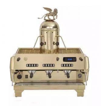 La San Marco TOP 80 PREZIOSA GOLD - 3 Gruppig - Siebträger-Espressomaschine