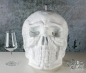 Preview: Ice Chiller Glasvereiser Totenkopf Deluxe weiss