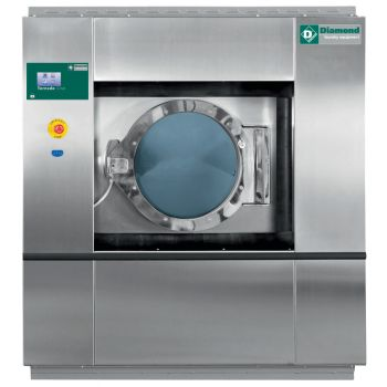 "Waschmaschine 30 kg - TOUCH SCREEN, ""Inox"""