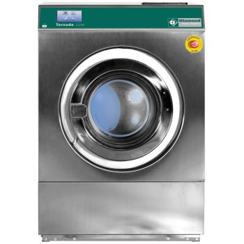 "Waschmaschine 23 kg - TOUCH SCREEN, ""Inox"""
