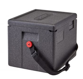 CAMBRO GoBOX Transportbox Thermobox Top-Lader GN-Behälter 1/2 - EPP280 - Gurt